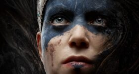 Hellblade: Senua's Sacrifice widok twarzy bohaterki