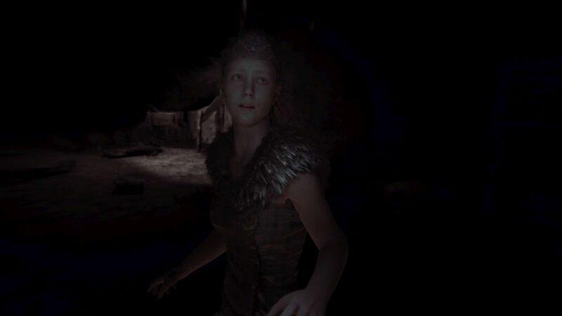 Hellblade: Senua's Sacrifice bohaterka zagubiona w ciemności