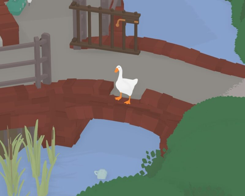 Untitled Goose Game gra o gęsi