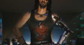 keanu reeves jako johnny silverhand cyberpunk-2077