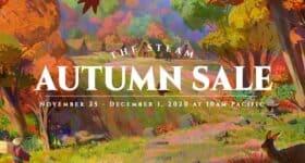 Jesienna wyprzedaż Steam logo