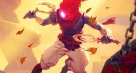 Dead Cells DLC Fatal Falls, widok na głównego bohatera gry