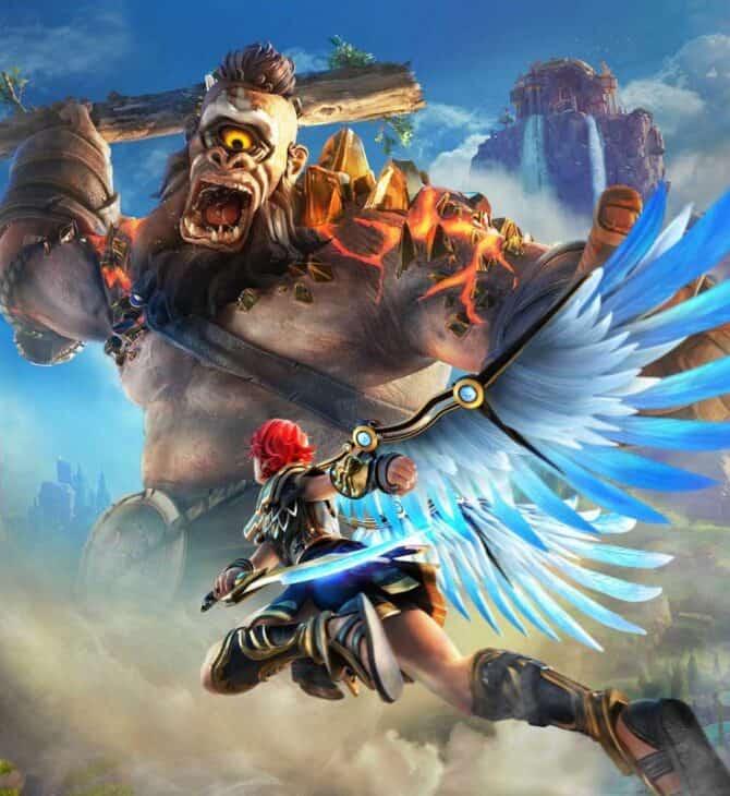 aktualizacja do Immortals Fenyx Rising – screen z gry