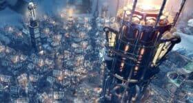 Frostpunk screen z gry generator ogień