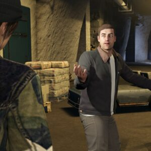 Screen z GTA 5 – postacie z gry