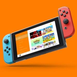 konsola nintendo switch - promocje na gry nintendo