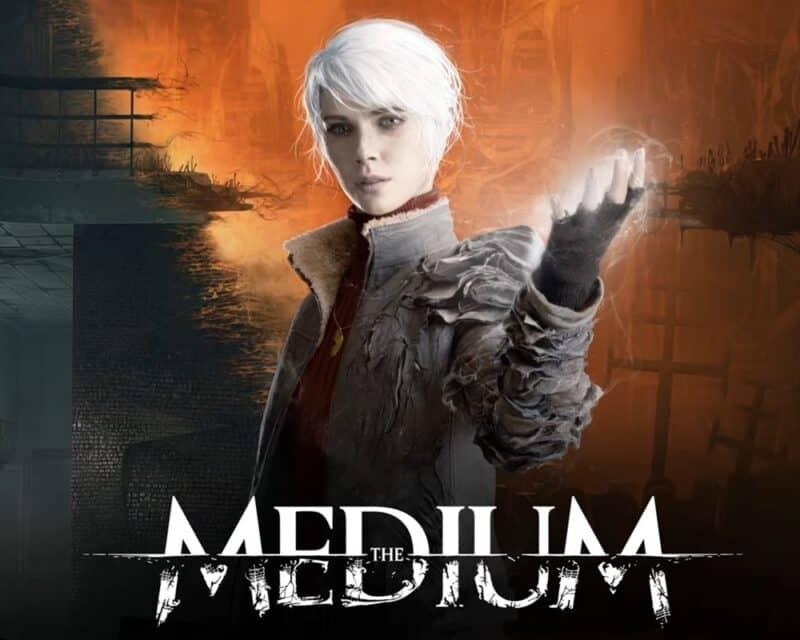 ciekawostki na temat the medium, główna bohaterka gry używa swoich umiejętności
