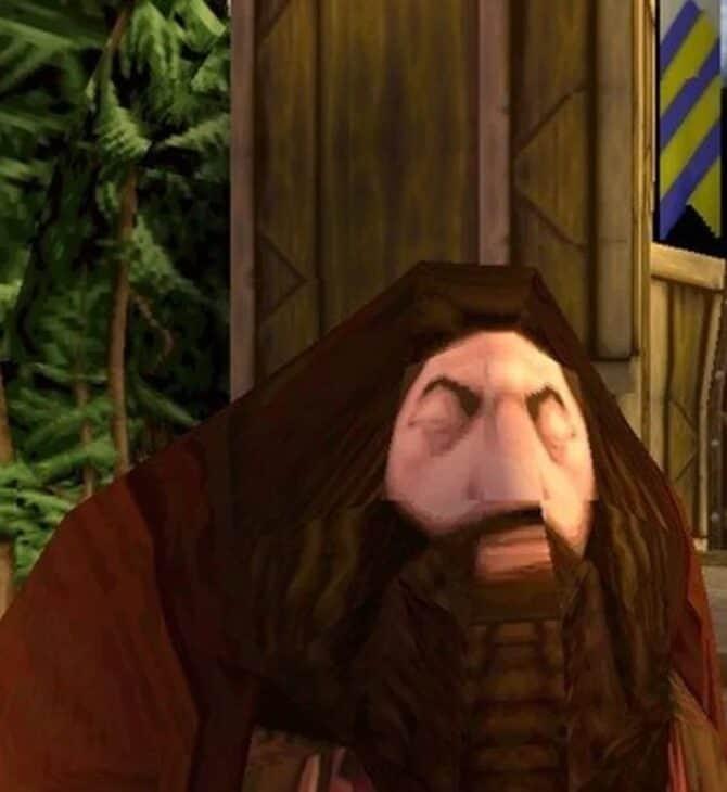 fenomen gier o Harrym Potterze, Hagrid