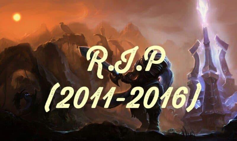 R.I.P Crystal Scar (2011-2016)