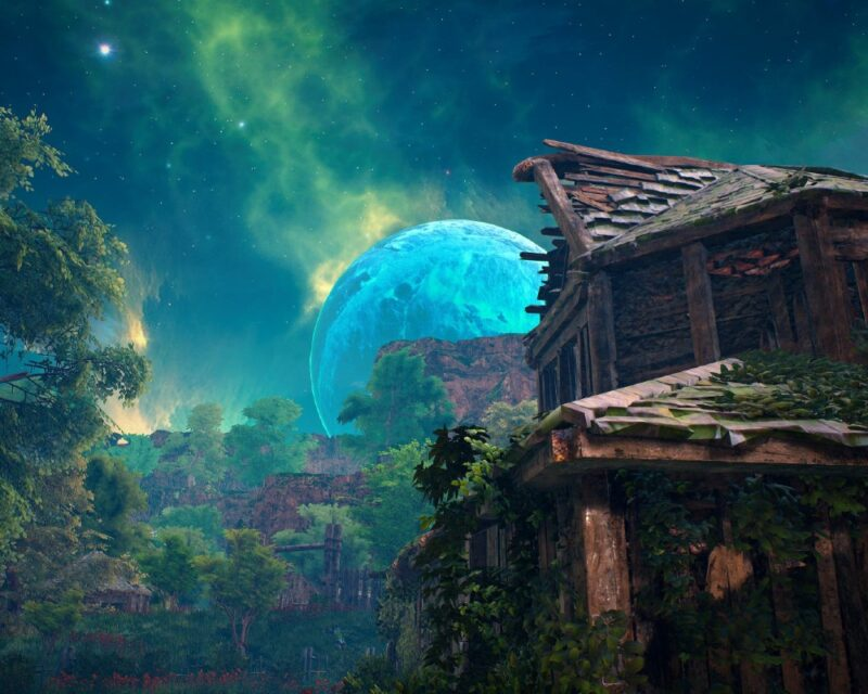 screen z gry Biomutant - premiera PC