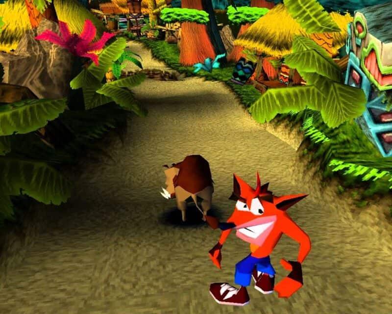 Najlepsze gry z dzieciństwa Crash Bandicoot