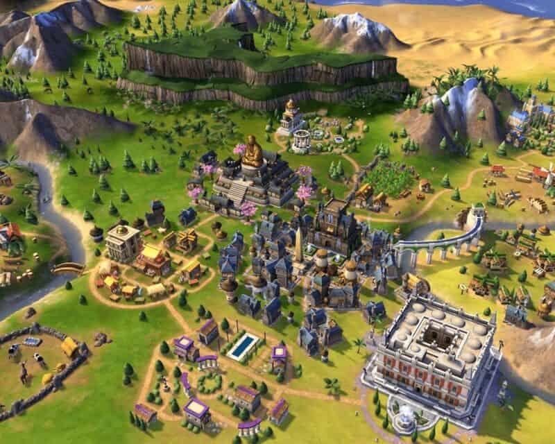 Kompletny pakiet Sid Meier's Civilization 6 to klasyczna strategia turowa, gdzie gracze rozwijają swoje cywilizacje od starożytności aż po czasy współczesne, w całkiem nowej odsłonie.