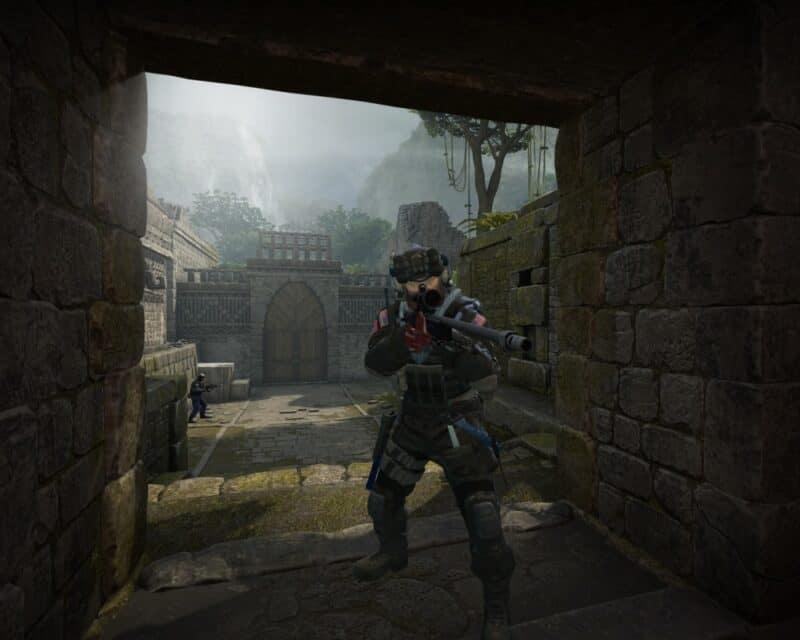 lipcowy patch Counter-Strike: Global Offensive postać broń