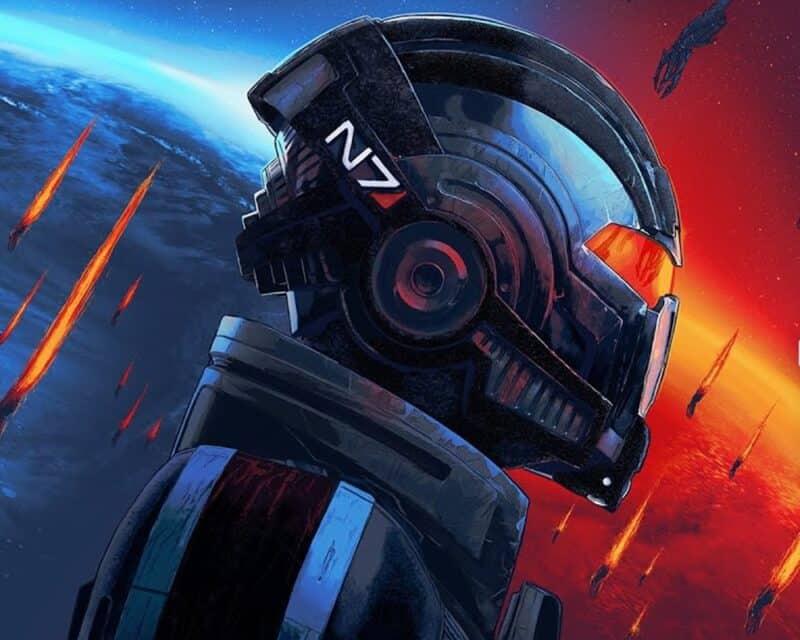Shepard z Mass Effect Legendary Edition