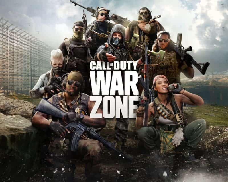 oszuści Call of Duty: Warzone cross-play konsole tapeta postacie napis